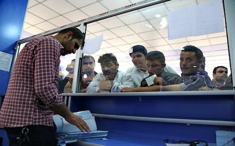 despite progress banks in kurdistan region remain