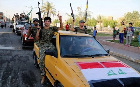 Shiite militias staying in 'disputed territories' could cause problems: officials