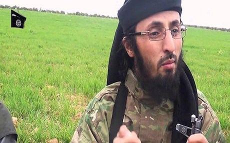 Photo of Othman Al Nazih from ISIS social media.