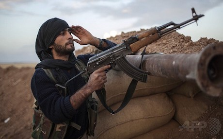 A Peoples Protection Units (YPG) fighter in Rojava. Photo: AFP