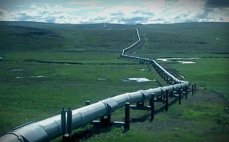 A pipeline network connects Iraq's northern oil fields to the Turkish port of Ceyhan. Photo: Anadolu News Agency.