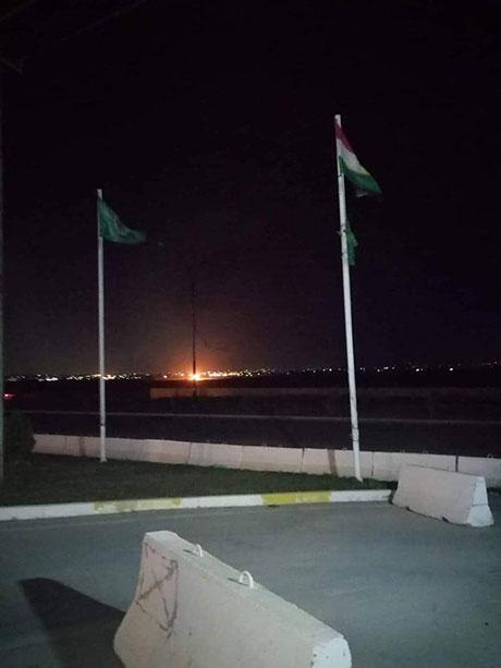 حزب طالباني يرفع علم كوردستان على مقراته في كركوك