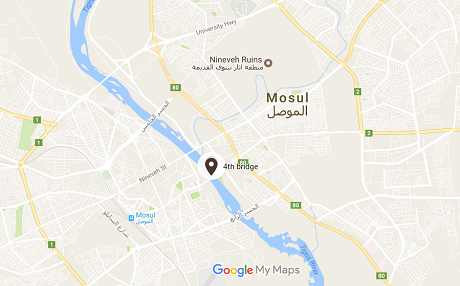 Iraqi forces reach the Tigris River in Mosul