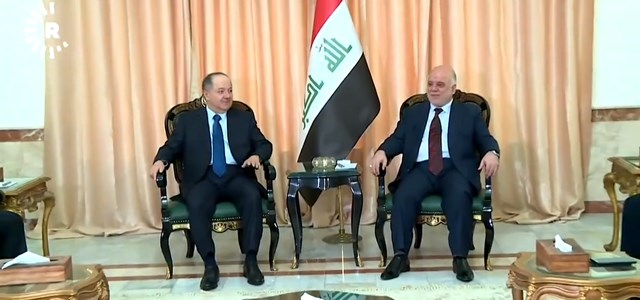 Barzani focuses on wider Iraqi issues on Day 2 of Baghdad visit