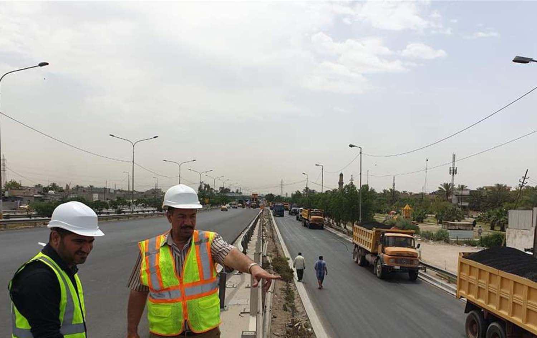 """أمانة بغداد تعلن افتتاح طريق """"سريع الشعلة"""" يوم غد ..."""