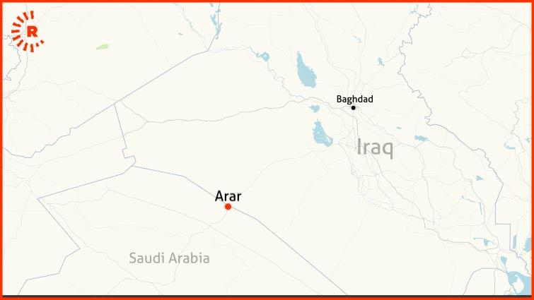 Iraq-Saudi border crossing to reopen after nearly 30 years Arar-map