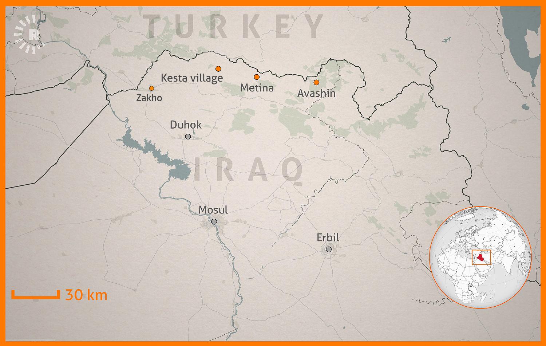 Türkischer Luftangriff: Dorf im Nordirak muss evakuiert werden